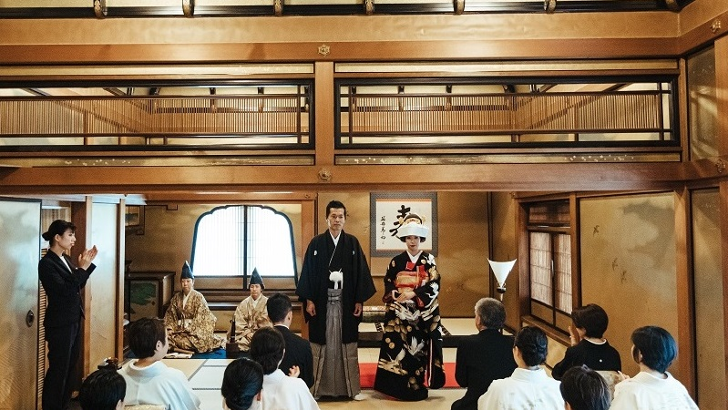 長楽館「祝言」 京都ご結婚式 人前式 TANAN丹庵
