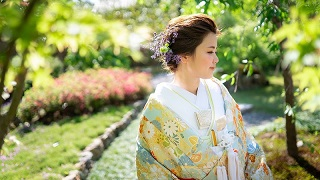 和装撮影 京都ご結婚式 TANAN丹庵