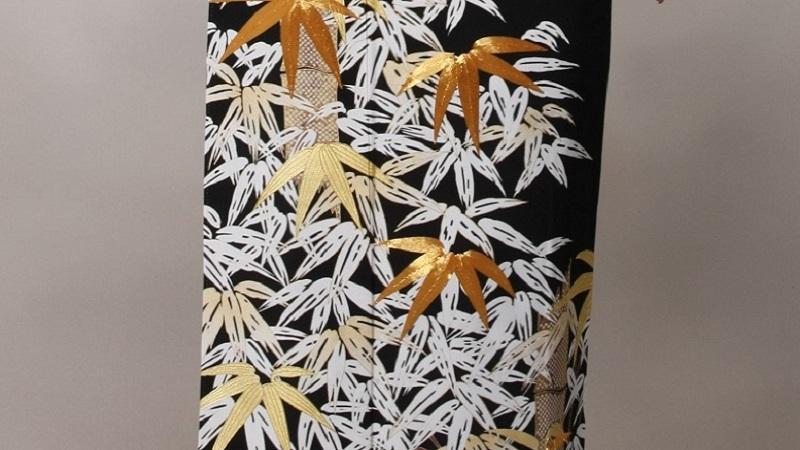 TANAN丹庵 留袖「 笹に竹」