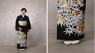留袖「 笹に竹」着物レンタル丹庵