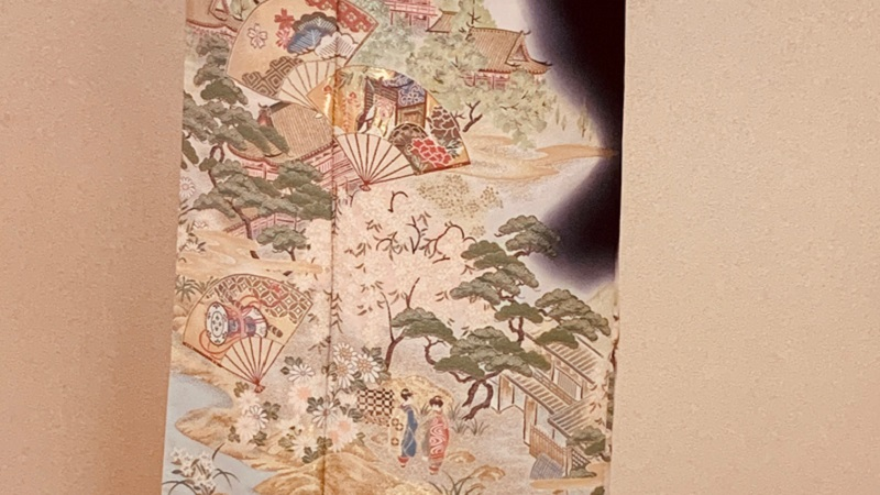 TANAN丹庵 留袖「吉澤織物 祇園の舞」