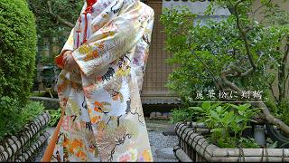 YOU TUBEアップいたしました 色打掛 京都結婚式