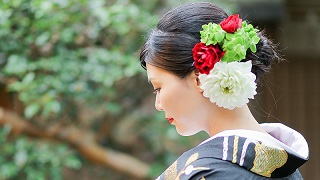 TANAN丹庵の花嫁さま 京都結婚式
