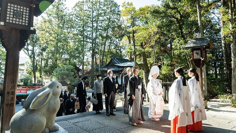 岡﨑神社結婚式 京都 TANAN丹庵