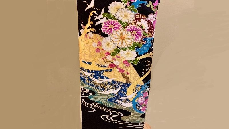 TANAN丹庵 留袖「桂由美 琳派 華やかな庭園」
