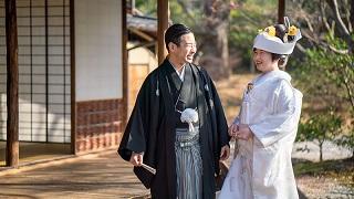 京都国立博物館 茶室「堪庵」前撮りTANAN丹庵