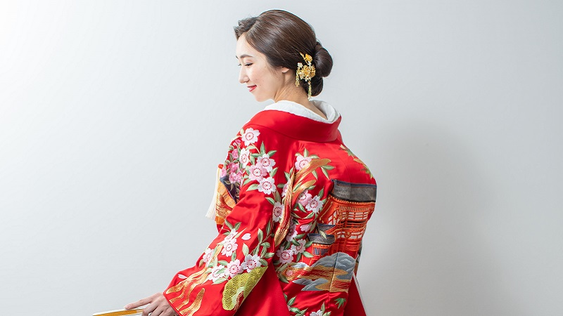 TANAN丹庵オリジナル 上賀茂神社 色打掛
